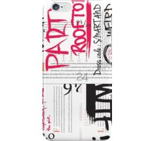 Party rooftop iPhone Case/Skin