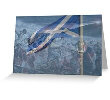 st andrews day Greeting Card