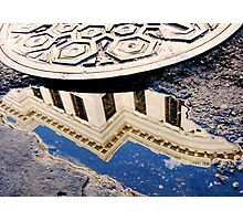 Supreme Court Reflection on Chartres Street Photographic Print