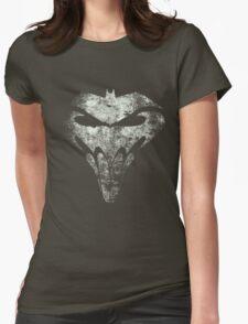 BatSkull - Punisher/Batman Mashup (Mega Grunge) Womens Fitted T-Shirt