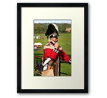Soldier of the British Army Framed Print