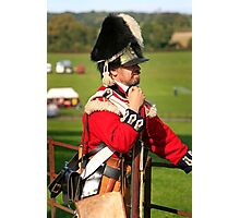 Soldier of the British Army Photographic Print