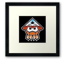 Splatformers (Retro) Framed Print