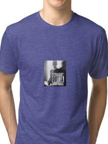 Spike - Straight Outta Sunnydale! Tri-blend T-Shirt