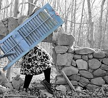 """""""Building A Mystery"""" Self Portrait by MJD Photography  Portraits and Abandoned Ruins"""