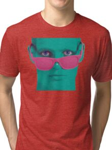 Touch my nose Tri-blend T-Shirt