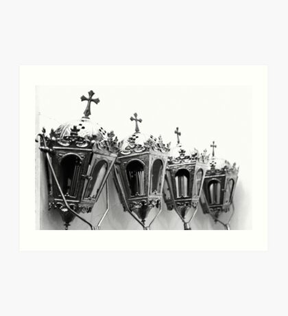 Religious artifacts Art Print
