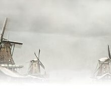 The Three Mills by LarsvandeGoor
