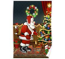 Santa`s Visit Poster