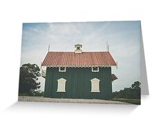 Beach Cottage Greeting Card