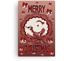 Merry Christmas 02 Canvas Print