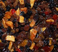 Christmas Pudding Fruit by Karen Martin