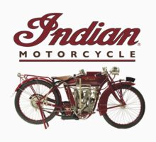 Indian Motorcycle - Vintage by OldDawg