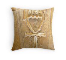 The Ankh Throw Pillow