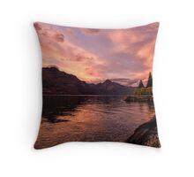 Good Morning Queenstown! Throw Pillow