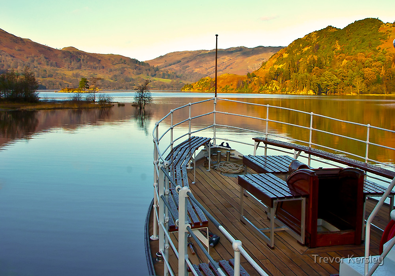 I am Sailing (Ullswater) by Trevor Kersley