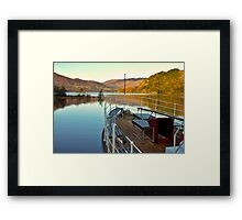 I am Sailing (Ullswater) Framed Print