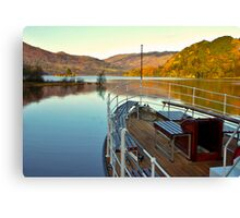 I am Sailing (Ullswater) Canvas Print