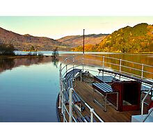 I am Sailing (Ullswater) Photographic Print