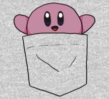 Pocket Kirby One Piece - Long Sleeve