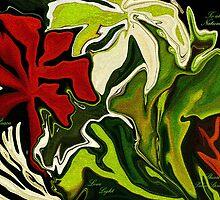 MY GARDEN.. PEACE- LOVE-HOPE-LIGHT  by Sherri     Nicholas
