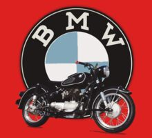 Vintage BMW Motorcycle Kids Clothes