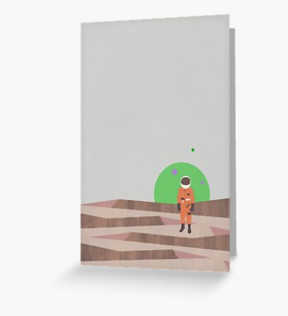 Marooned Astronaut (alone 2015) Greeting Card