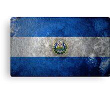 El Salvador Grunge Canvas Print