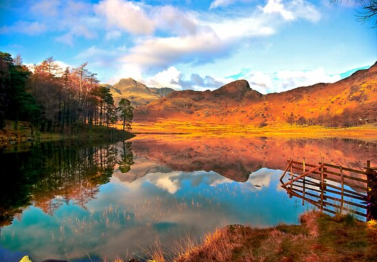 Blea Tarn - Lake District Cumbria. by Trevor Kersley