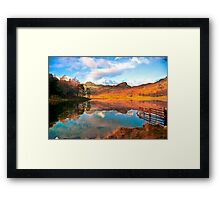 Blea Tarn - Lake District Cumbria. Framed Print