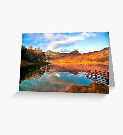 Blea Tarn - Lake District Cumbria. Greeting Card