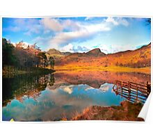 Blea Tarn - Lake District Cumbria. Poster