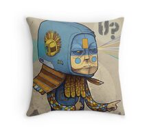 0? Throw Pillow