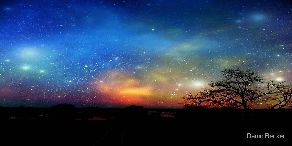 Aurora Borealis © by Dawn M. Becker