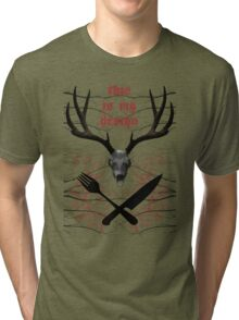 This is my design Tri-blend T-Shirt