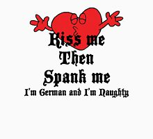 Funny German T-Shirt Womens Fitted T-Shirt