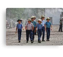 """The Boys Are Back in Town"" Canvas Print"