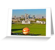 Greenwich Common, London Greeting Card