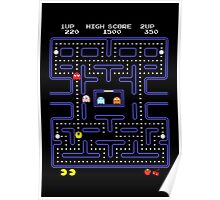 Pac-Man or Pacman Poster