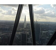 The Shard from The Gherkin Photographic Print