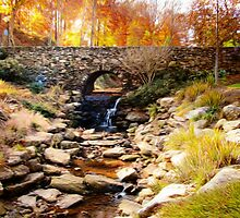 Stone Bridge by Darlene Lankford Honeycutt