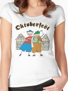 Oktoberfest Women's Fitted Scoop T-Shirt
