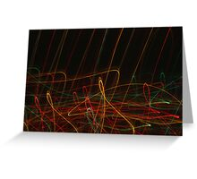 Suburb Christmas Light Series - Xmas Reach Greeting Card