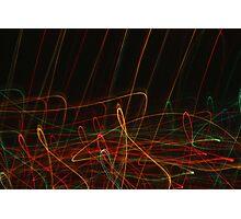 Suburb Christmas Light Series - Xmas Reach Photographic Print