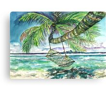 Caribbean Solitude Canvas Print