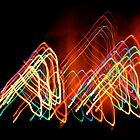 Suburb Christmas Light Series - 80s Funk by David J. Hudson