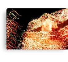Suburb Christmas Light Series - Xmas Home Canvas Print