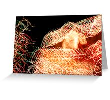Suburb Christmas Light Series - Xmas Home Greeting Card