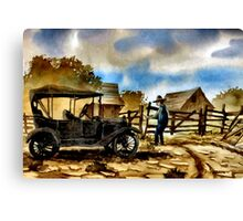 POPPA WILLIAMS ... Canvas Print