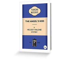 The Angel's Kiss Greeting Card